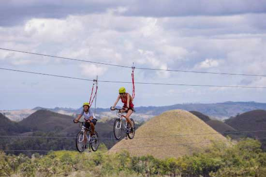 bohol chocolate hills adventure park - Tourism sector told to act now, don't wait for total quarantine lifting